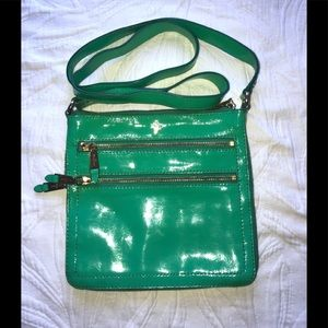 Cute Cole Haan Green Crossover Purse